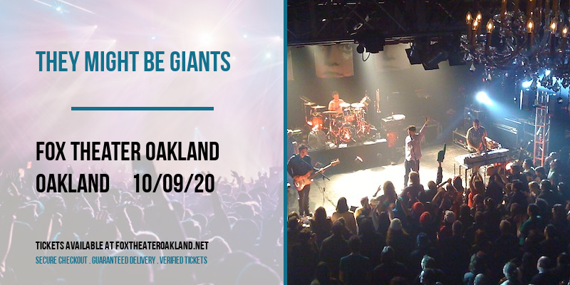 They Might Be Giants at Fox Theater Oakland