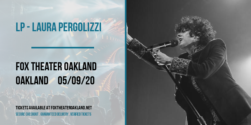 LP - Laura Pergolizzi at Fox Theater Oakland
