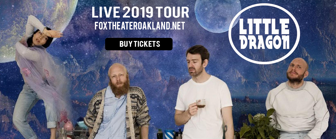 Little Dragon [CANCELLED] at Fox Theater Oakland