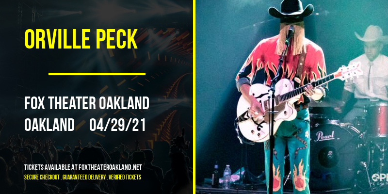Orville Peck [CANCELLED] at Fox Theater Oakland
