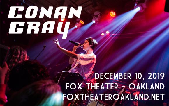 Conan Gray at Fox Theater Oakland