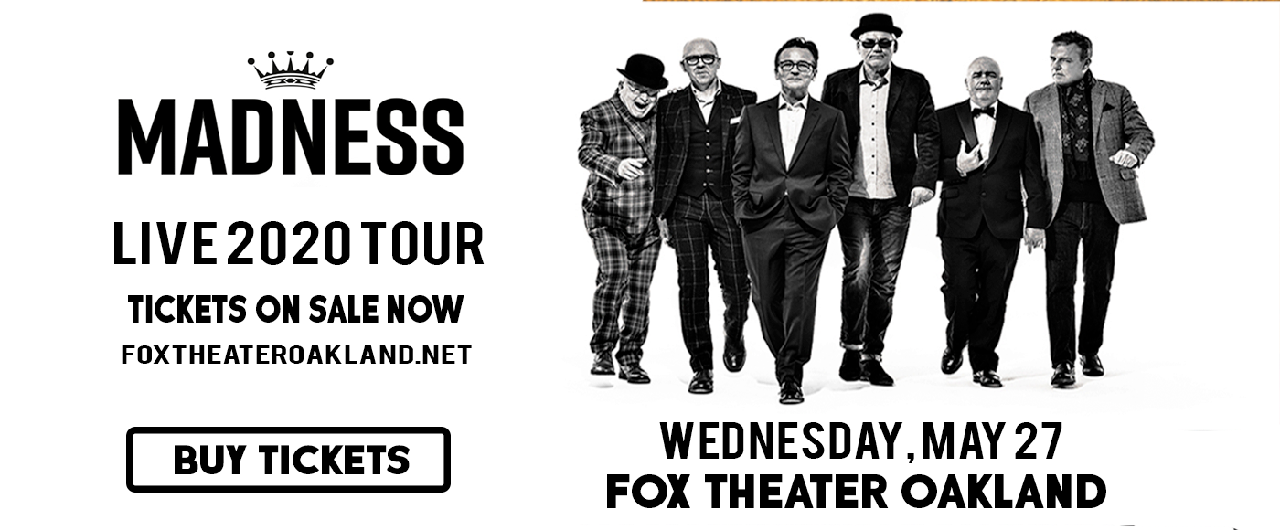Madness at Fox Theater Oakland