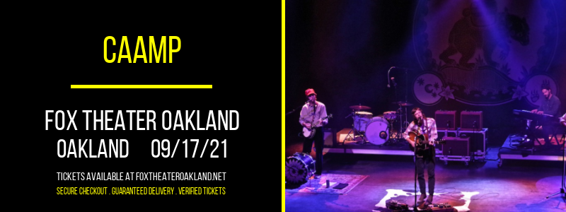 Caamp at Fox Theater Oakland